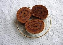 Kakaová roláda s marmeládou
