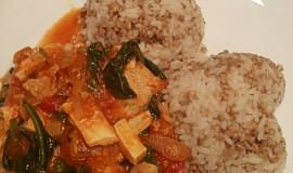 Krůtí trikolora s pohankovou rýží