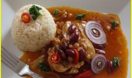 Mexické pikantní kuře