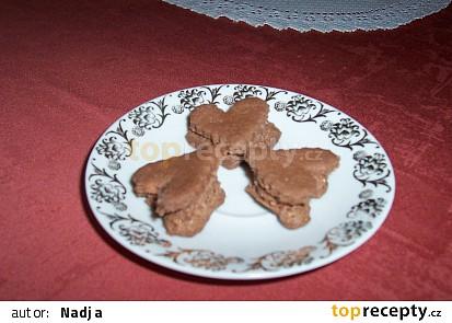 Pěnová kakaová srdíčka