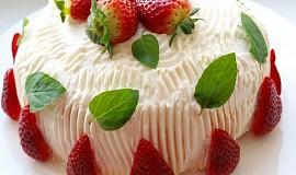 Rolovaný dortík