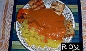 Rybí filé s pikantní omáčkou od Rox