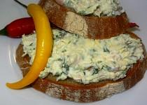 Sýrová pomazánka se šunkou