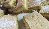 Tvarohový linecký koláč