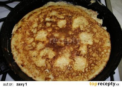 Vaječná omeleta s ovesnými vločkami