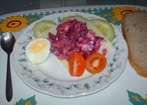 Výborný salát z červené řepy