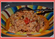 Zapečené pikantní fazole