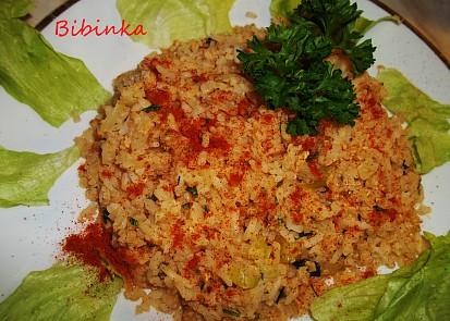 Ze zbylé rýže