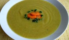 Zimní krémová polévka
