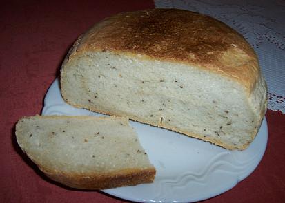 Chléb z hladké mouky