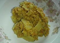 Čočka s bambusem, celerem a arašídy