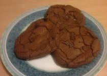 Čokoládové sušenky se zázvorem