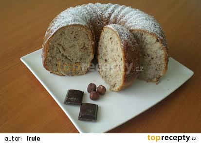 Čokoládovo-ořechová bábovka