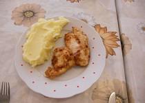 Kuřecí řízečky v česneku