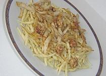 Lahodné těstoviny s kuřecími nitkami a lanýžovou vůní