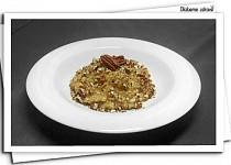 Mléčná rýže s pekanovými ořechy