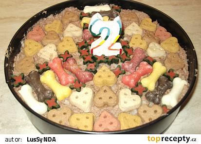 Narozeninový dort pro psy