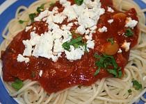 Omacka na spagety