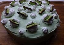 Pistáciový rychlý dort