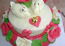 Jarýskuv první svatební dort