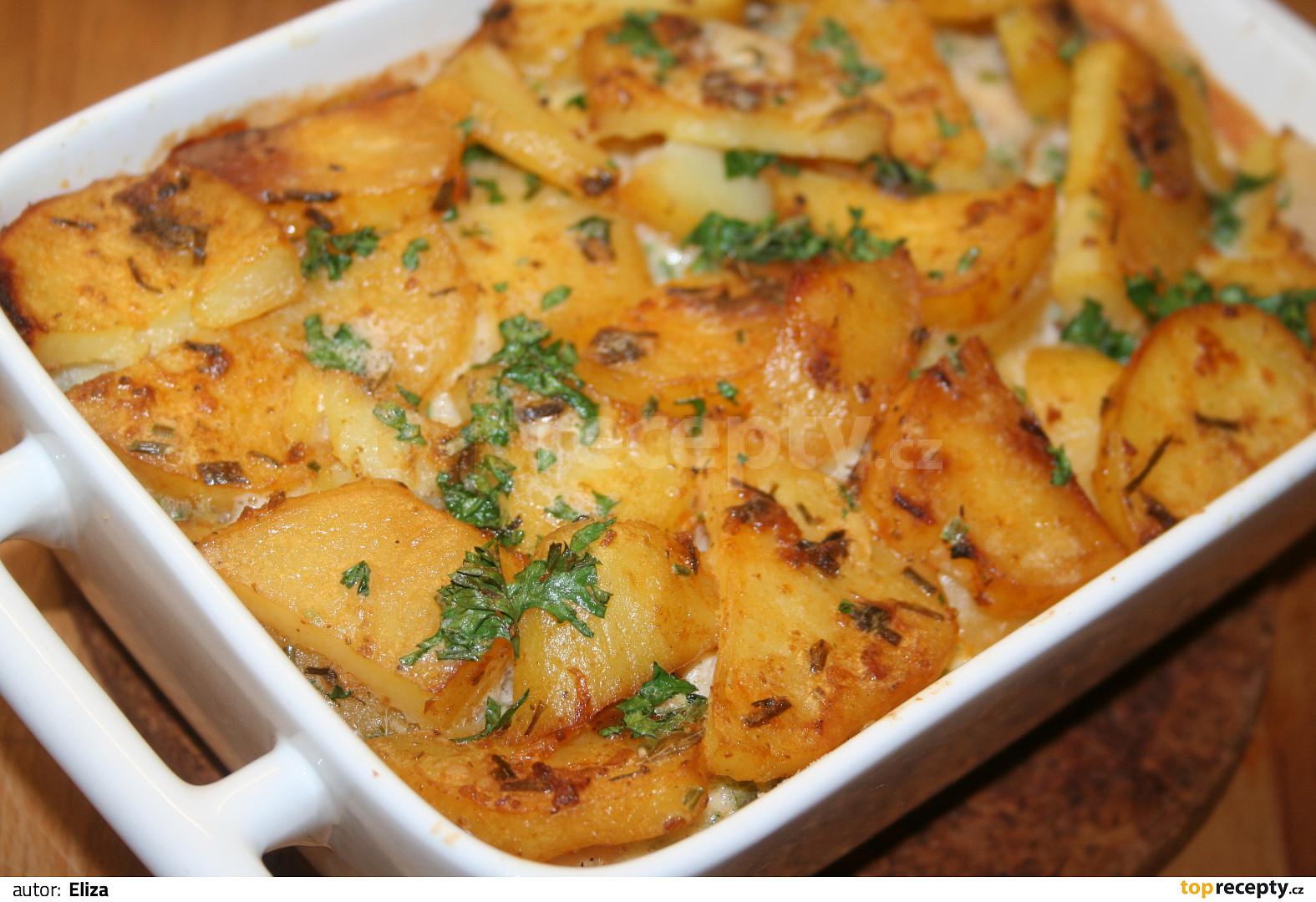 Výsledek obrázku pro zapečené brambory