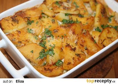 Snadné zapečené brambory