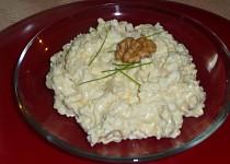Sýrová pomazánka s míchanými vajíčky