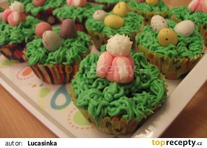 Velikonoční cupcakes