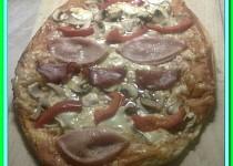 Velikonoční pizza vejce