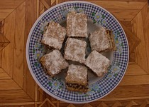 Bramborový koláč s povidly