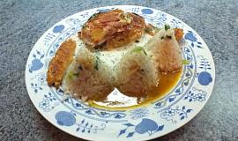 Kuřecí závitek s rýžovým pilafem