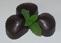 """Mátový sen"" Čokoládové mátové pralinky"