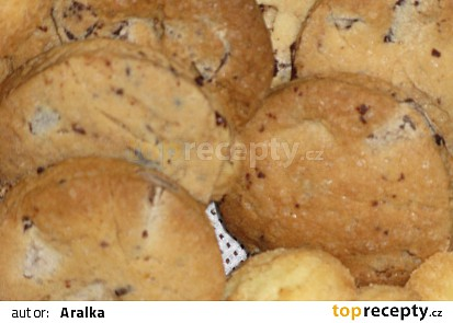 Nugátové cookies