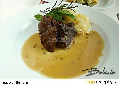 Pečené kančí maso