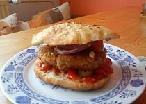 Pohankovo-ovesný hamburger