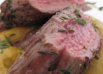 """""""Pštrosí steak s dýňovou kaší"""""""