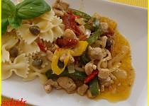 Rychlé kuřecí se zeleninou