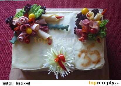 Slaný dort 35