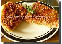 Slaný koláč s pohankovou náplní