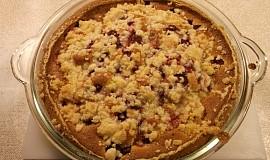 Strawberry Pie - Jahodový koláč s drobením