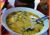Strouhaná polévka čarodějka
