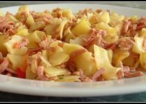 Těstoviny s kuřecí mortadellou