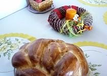 Východniarska paska - velikonoční koláč k šunce a klobáse