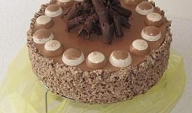 """""""Vydejte se do čokoládového ráje"""" Čokoládový dort s panna cottou"""