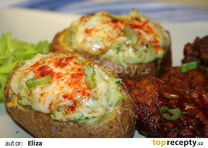 2x pečené brambory