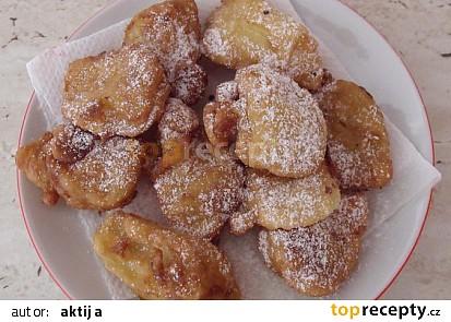 Banánové kousky v kokosovém těstíčku