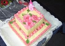 Bezlepkový korpus na dort nebo i jako bábovka