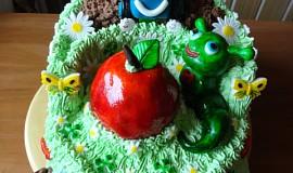 Dětský dort pro dvojčata