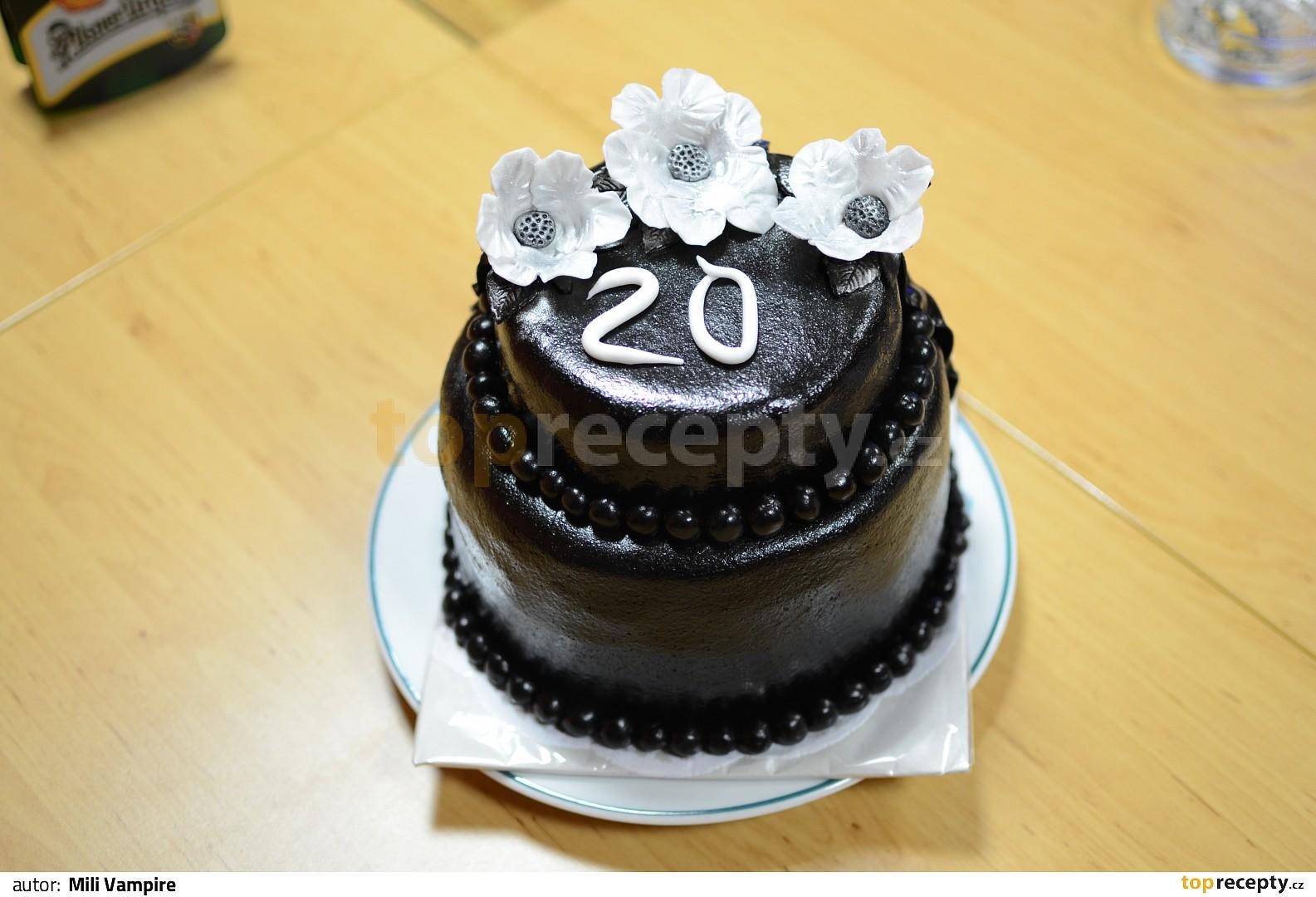 dort k 20 narozeninám Dort k 20. narozeninám recept   TopRecepty.cz dort k 20 narozeninám