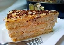 Dulce de leche dortík s javorovým sirupem